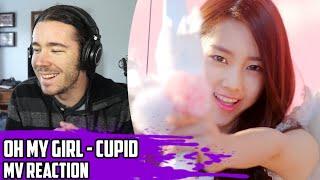 Video Oh My Girl(오마이걸) - Cupid(큐피드) | MV Reaction MP3, 3GP, MP4, WEBM, AVI, FLV Juli 2018