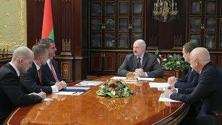 Александр Лукашенко встретился с владельцем группы компаний «Штадлер» Петером Шпулером