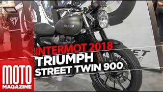 8. Triumph Street Twin 900 2019 - INTERMOT 2018