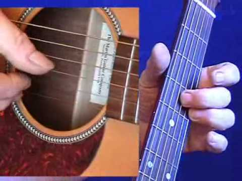 Online Guitar Lesson video for beginners. Guitar Blues