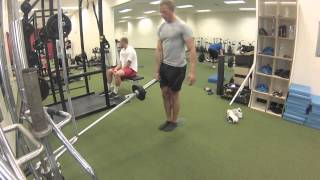 Exercise Index: Single leg landmine RDL