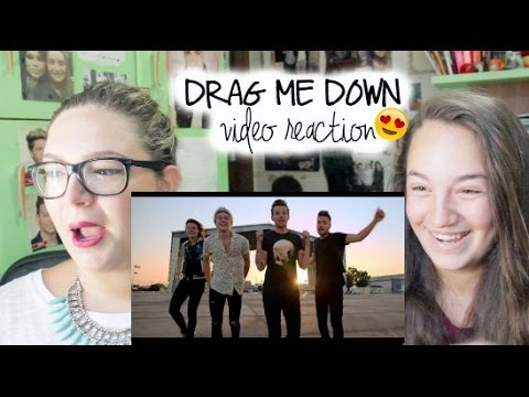 DRAG ME DOWN - One Direction \\\\ video reaction (видео)