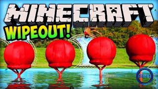 Minecraft Wipeout - TOTAL WIPEOUT (PARKOUR CHALLENGE)! - Minecraft w/ Ali-A!