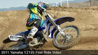 5. MotoUSA First Ride:  2011 Yamaha YZ125