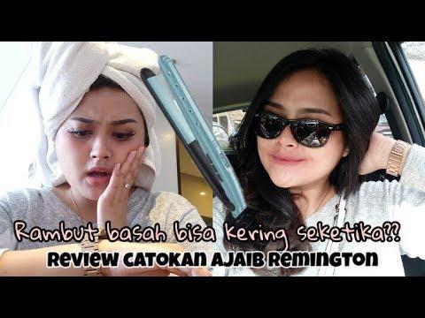 Hairdryer+Catokan jadi satu?? Remington wet 2 straight review