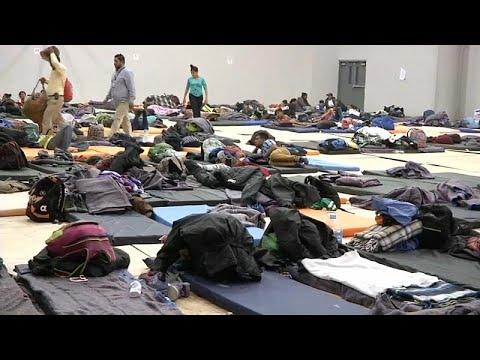 Mexiko: Weitere 800 Migranten erreichen Tijuana - Anwohner protestieren