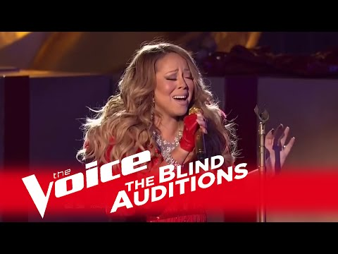 "The Voice 2014 - Mariah Carey Blind Audition: ""All I Want For Christmas Is You"""