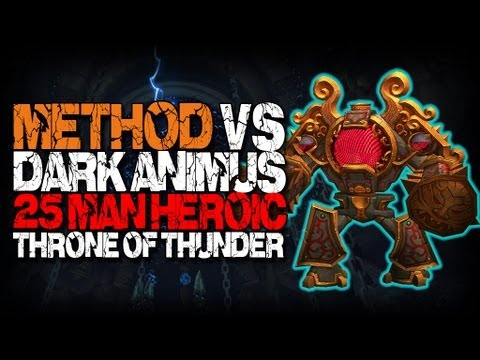 Method vs Dark Animus (25 Heroic) World First Video