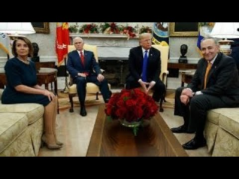 Trump touts transparency during meeting with Pelosi, Schumer