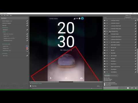 Theme Creator - Create an advanced lock screen transition part 3/3