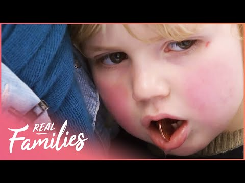 Sweet Girl Gets Her Tonsils Removed | Children's Hospital | Real Families with Foxy Games
