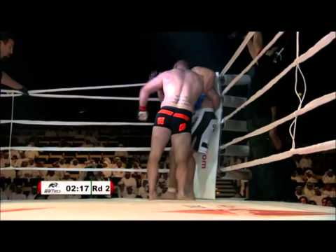 Maro Perak vs Travis Wiuff, Abu DHabi Warriors 1