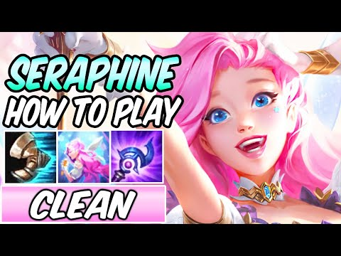 SERAPHINE GUIDE | Best Build & Runes | Diamond Commentary | Seraphine Mid Gameplay League of Legends