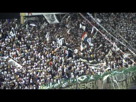 LBO - 'Franjeado me enamore de ti' + 'Por eso yo te quiero dar' vs arsenal  . Copa Sudamericana 2011 - La Barra del Olimpia - Olimpia
