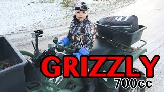 10. FATHER AND SON TIME ON THE YAMAHA GRIZZLY 700cc