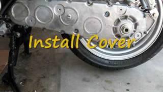 9. Burgman 650 - DIY - Final Gear Drive Oil Change