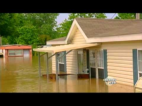 YouTube Video - La piena del Mississippi a Memphis (fonte: CBSNewsOnline)