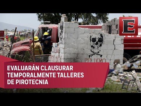 Nuevas explosiones de polvorín ponen en la mira a Tultepec