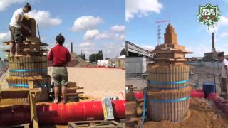 Simon De Raek – Sculptures de sable