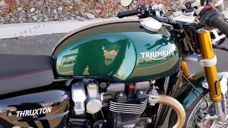2. 2019 Triumph Thruxton R - Competition Green