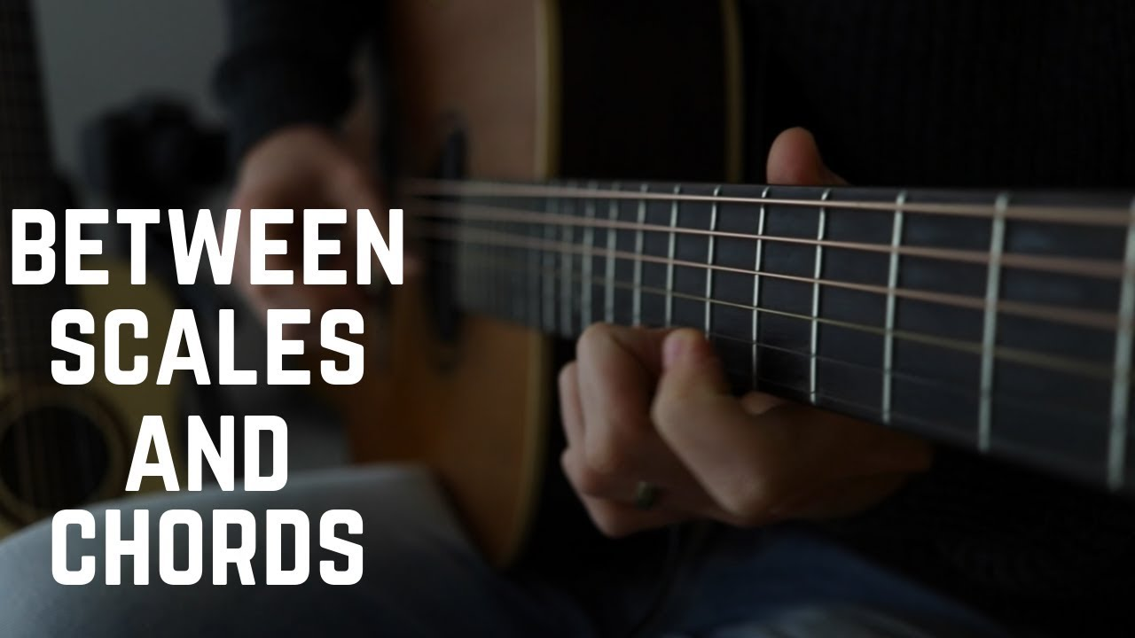 Beautiful Solo on Acoustic Guitar … target notes vs scale noodling