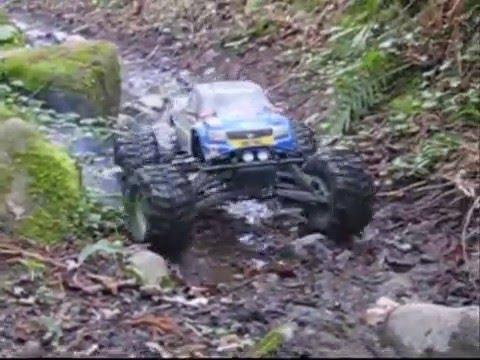 Смотреть видео HPI SAVAGE 3.5 RTR 1/10 4WD