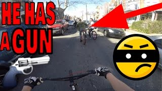 CHASING DOWN BIKE THIEF IN PHILLY!!!