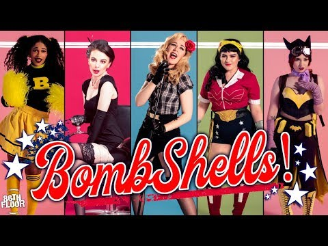 DC Bombshells Cosplay Music Video