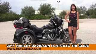 10. Used 2011 Harley Davidson Tri Glide Three Wheeler Trike