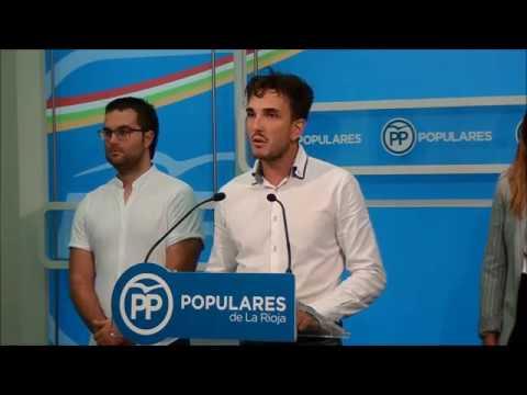 Cid Peña informa sobre el desarrollo del 14 Congreso de NNGG La Rioja