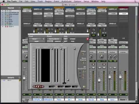 Pro Tools Basics Lesson 13 – Mixing and Mastering (13 of 13)
