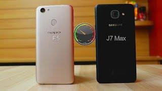 Video Oppo F5 Vs Samsung J7 Max SpeedTest Comparison I Hindi MP3, 3GP, MP4, WEBM, AVI, FLV November 2017