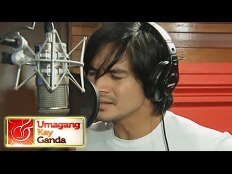 Piolo's recording of teleserye theme song