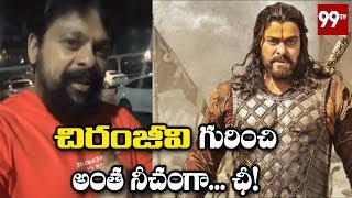 Janasena Vishnu Nagireddy Fires on Media | Chiranjeevi