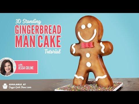 Gingerbread Man Cake Promo