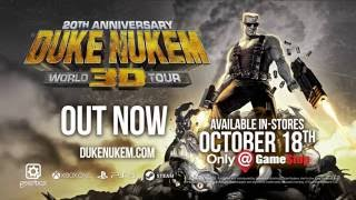 Duke Nukem 20th Anniversary - Official Launch Trailer