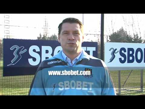 SBOBET Anniversary message from Tony Cottee