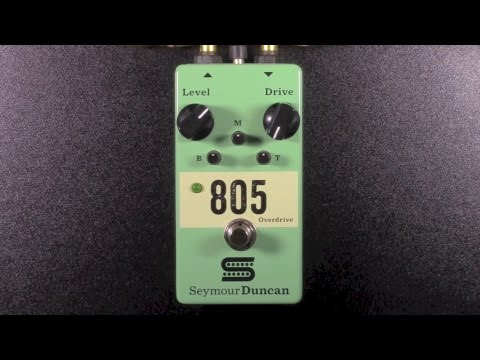 Seymour Duncan 805 Overdrive Review - BestGuitarEffects.com