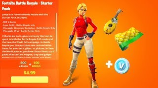 The *NEW* Fortnite STARTER PACK..! (Leaked)
