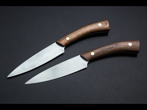 Knife making: Making steak knives using basic, cheap tools