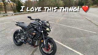 5. Reasons why I LOVE My Yamaha MT/FZ-10!