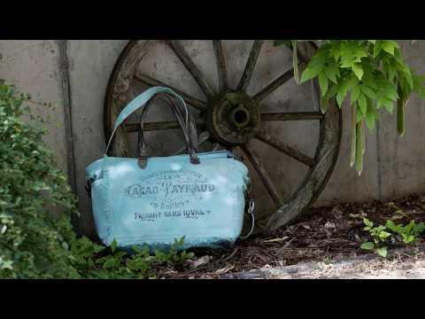 Sunsa Damen Retro used look Taschen Shopper-Großartige Designs nur für Dich! Vintage Style