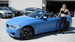 NEW BMW M4 Yas Marina Blue / Adaptive M Suspension / Exhaust Sound / BMW Review