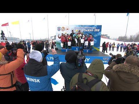 Команда Президента Беларуси победила в эстафете на 'Минской лыжне'