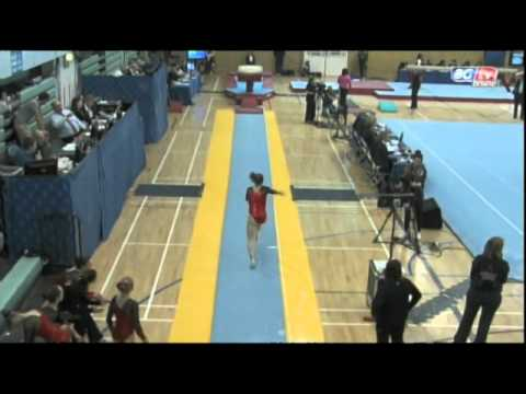 Jenny Pinches - British Team Championships- Vault