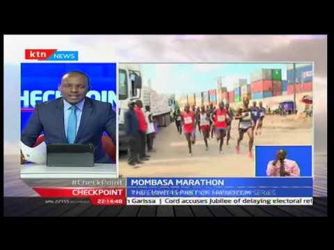 CheckPoint: Paul Maina and Nancy Jebetare the Safaricom Mombasa Marathon, September 25th 2016