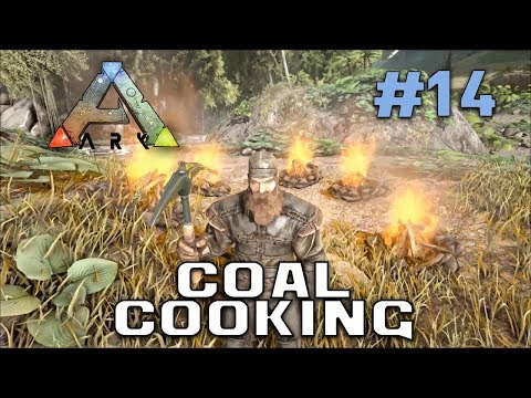 Coal Cooking And Gunpowder Making! | Ark: Survival Evolved | Season 1 Episode 14 [Server Closed]