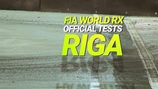#WorldRX 2018 #OfficialTesting #RigaTests