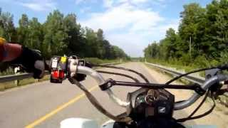 1. Honda Trx 450r Pavement Run Top Speed GoPro