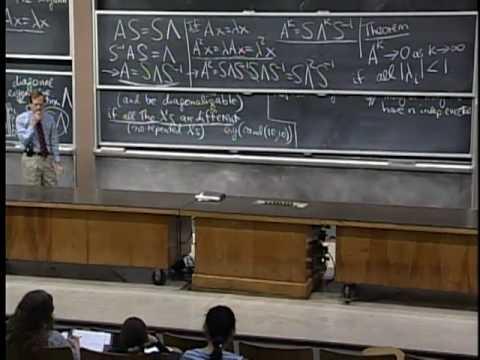 Lec 22 | MIT 18.06 Linear Algebra, Spring 2005